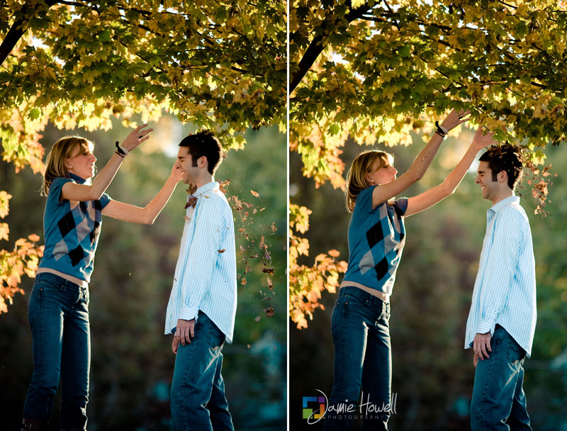 Piedmont Park Atlanta Engagement