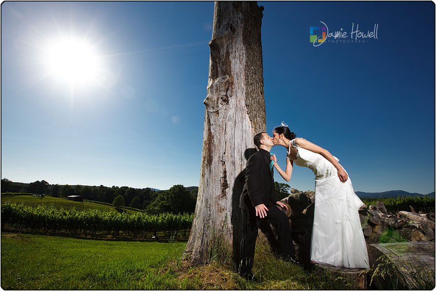 Blackstock Winery wedding