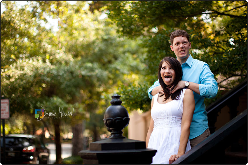 Savannah Engagement pictures