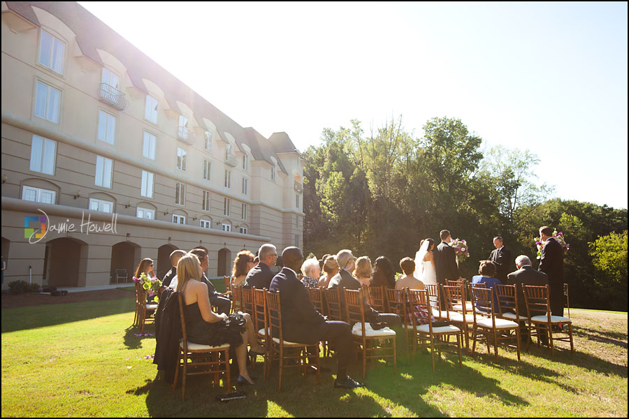 Chateau Elan Outdoor Wedding