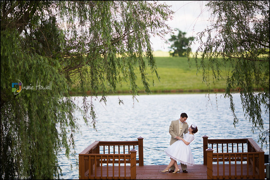 Meredith and Nathan Callaway Gardens Oakhurst Farm wedding
