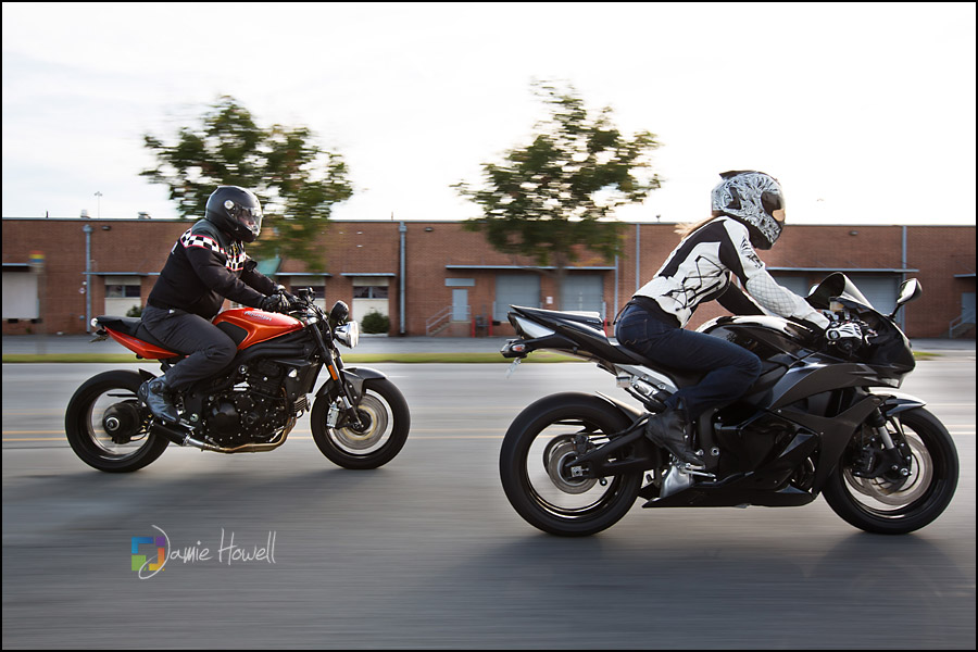 Matt And Brooke Post Wedding Motorcycle Session Jamie Howell