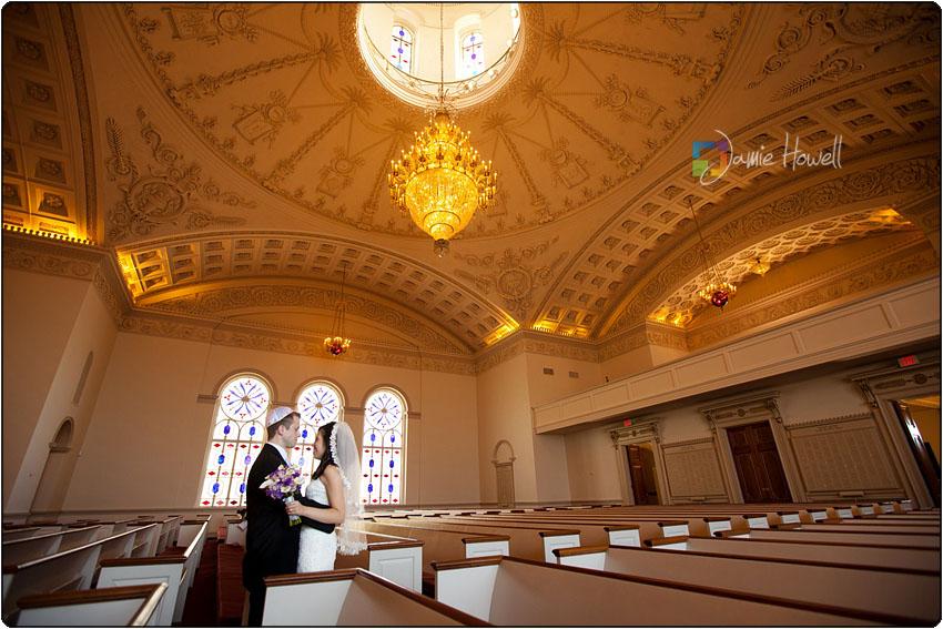 the temple Atlanta wedding