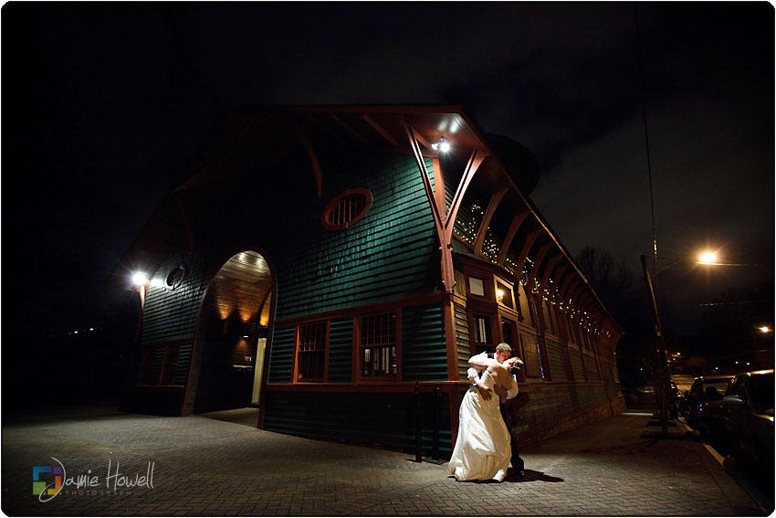trolley barn wedding Atlanta