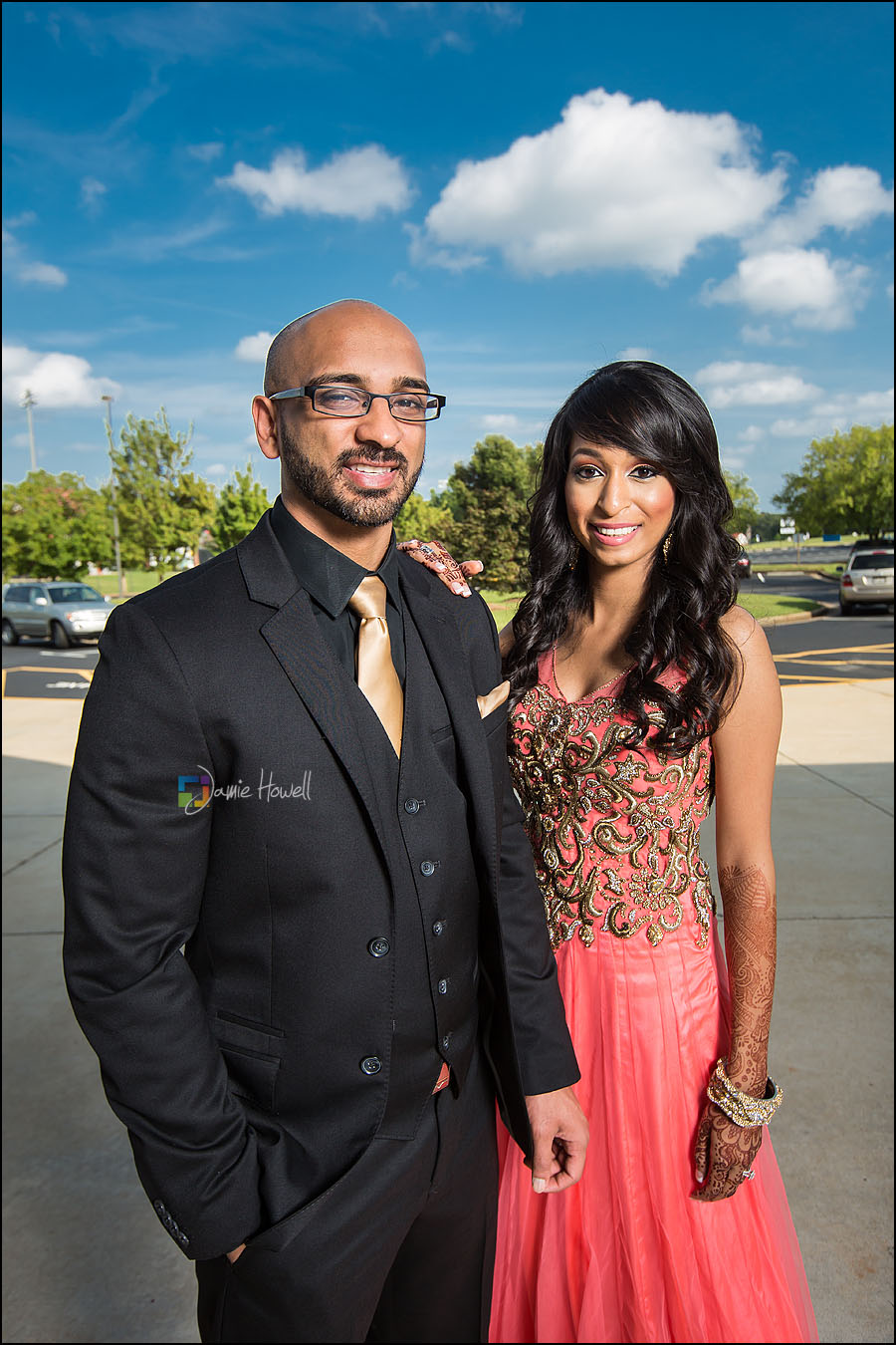 Atlanta Hindu Wedding Reception