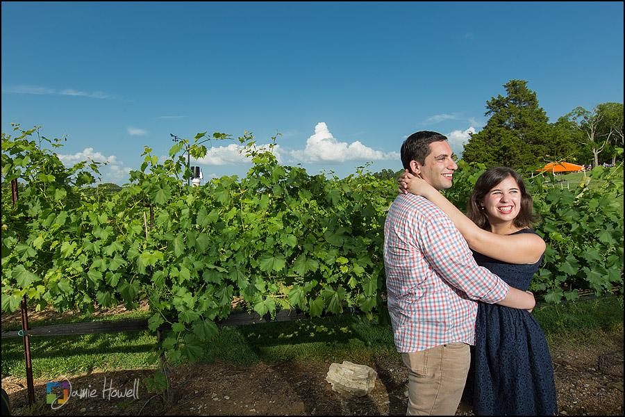 Arrington Vineyard engagement (2)