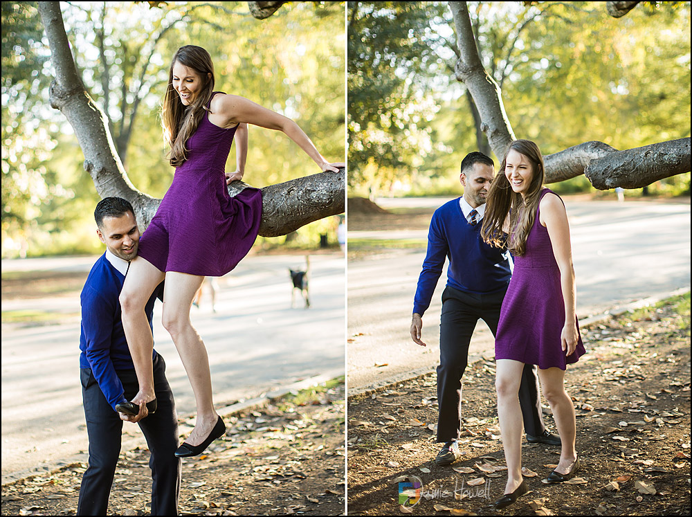 Atlanta Piedmont Park engagement session (7)