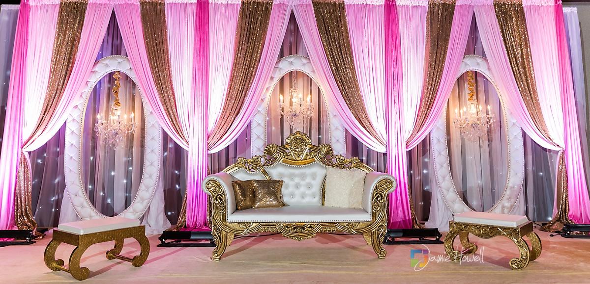 Signature Ballroom Indian wedding reception (1)