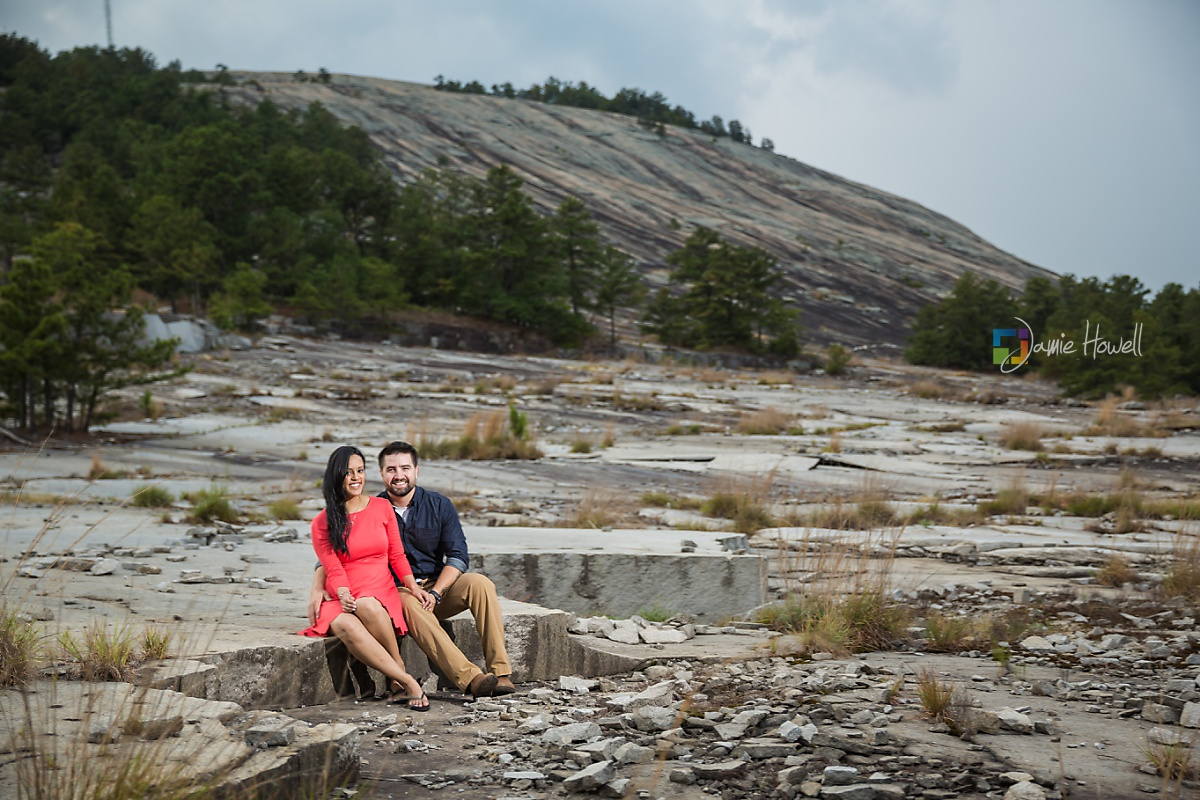 Stone Mountain engagement session (5)