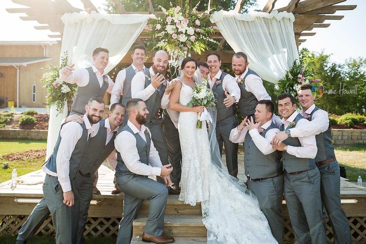 Bridge View Barn Wedding (34)