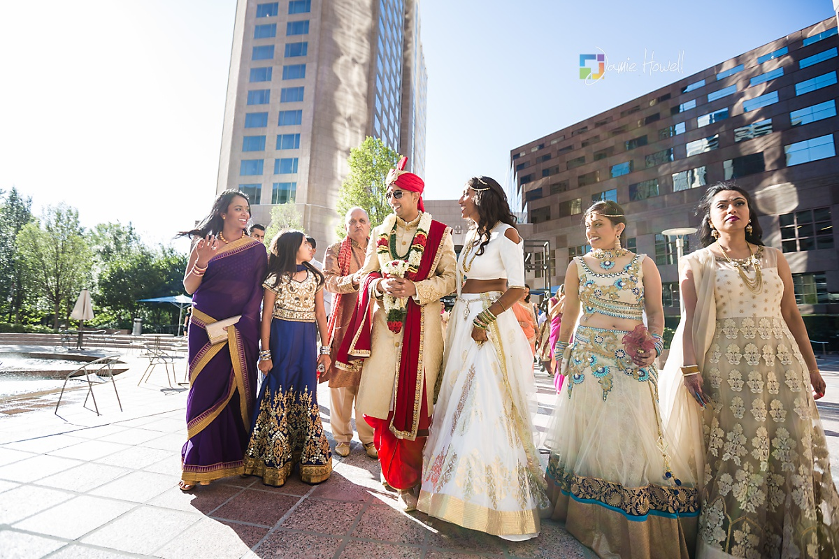 Hilton Charlotte Center South Asian Wedding (13)