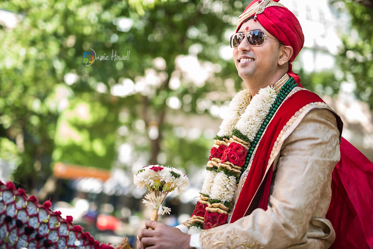 Hilton Charlotte Center South Asian Wedding (15)