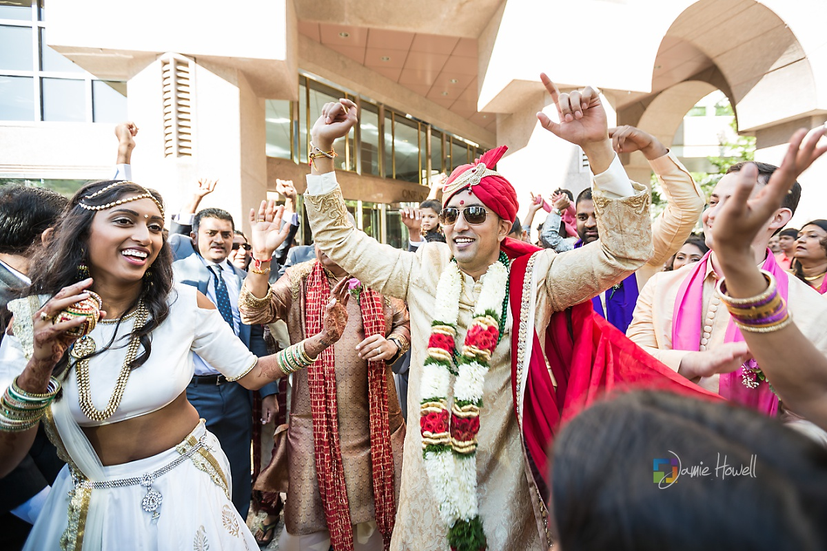 Hilton Charlotte Center South Asian Wedding (18)