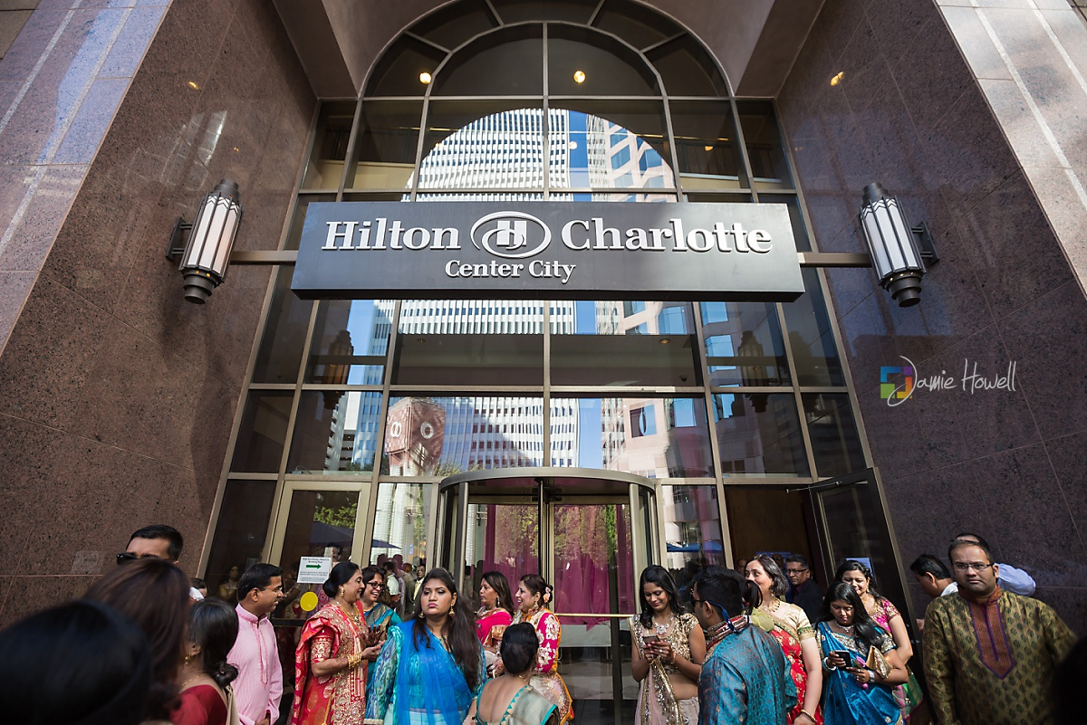 Hilton Charlotte Center South Asian Wedding (22)