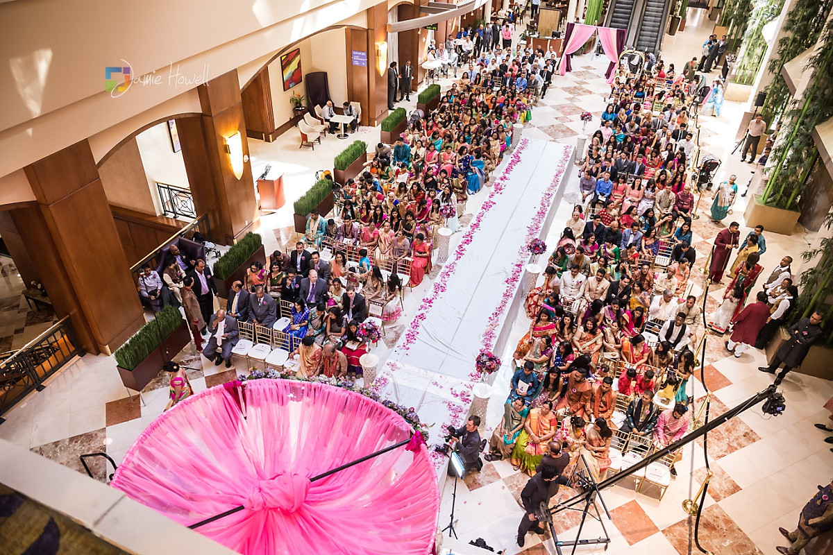 Hilton Charlotte Center South Asian Wedding (28)