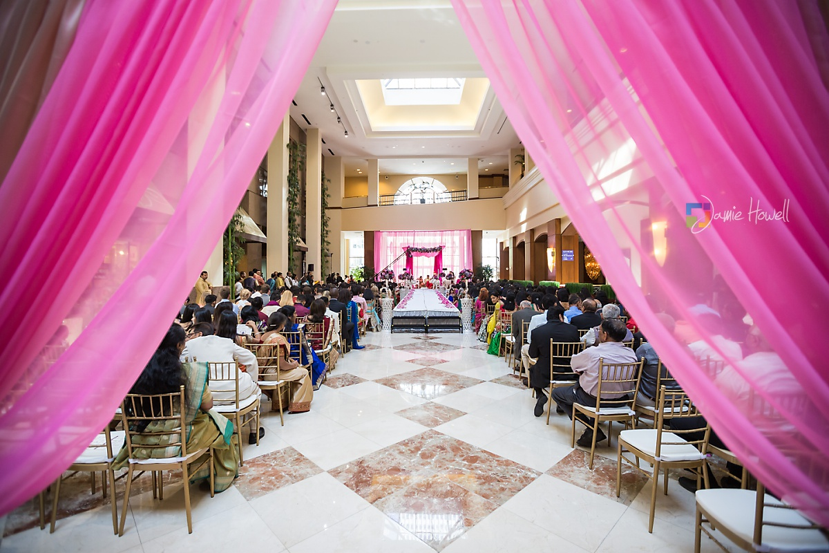 Hilton Charlotte Center South Asian Wedding (29)
