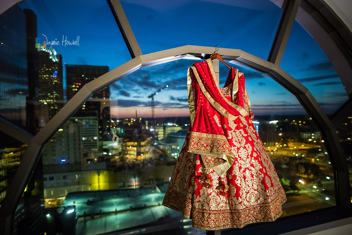 Hilton Charlotte Center South Asian Wedding (3)