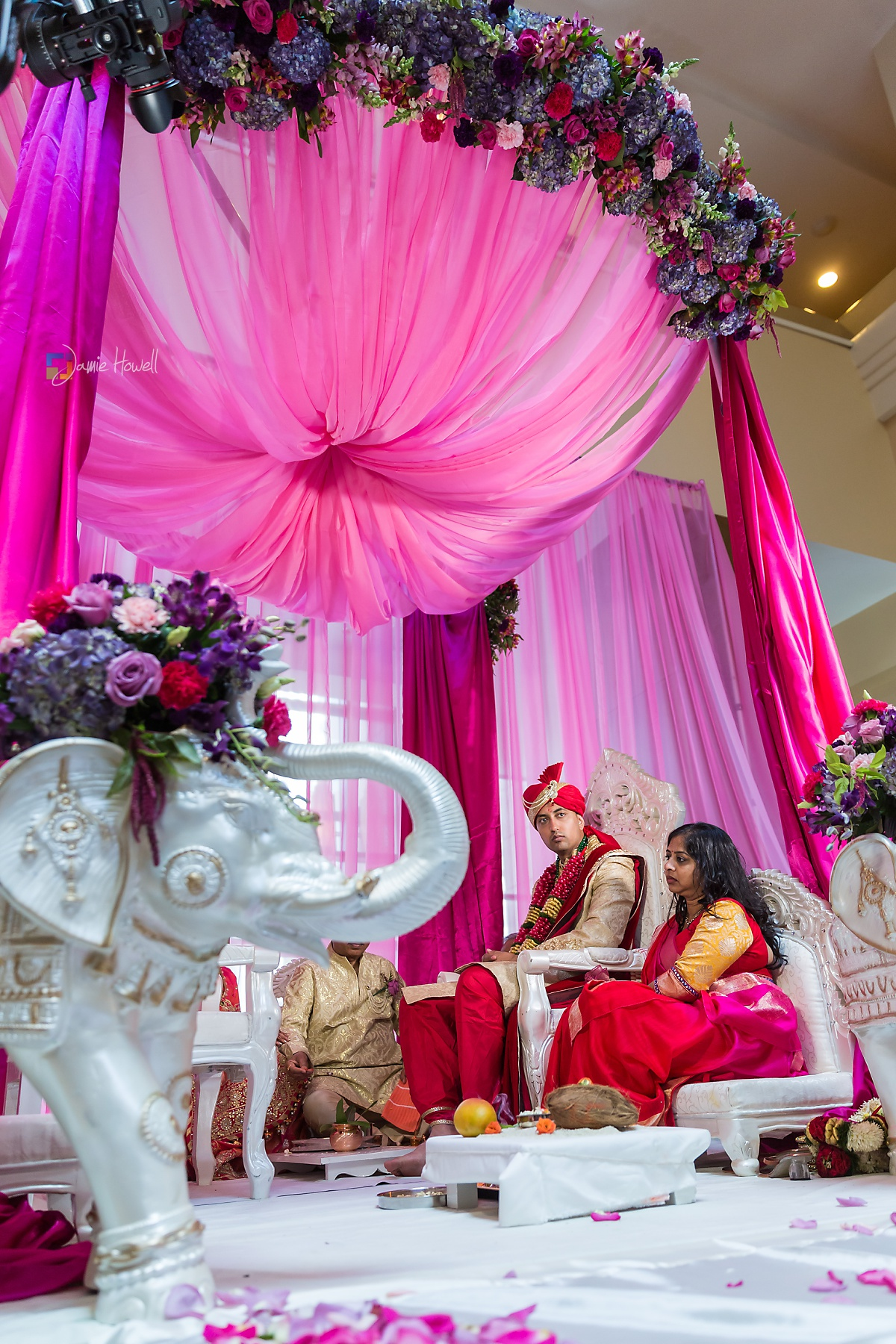 Hilton Charlotte Center South Asian Wedding (30)