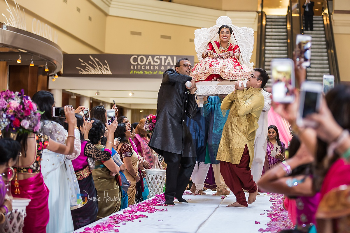 Hilton Charlotte Center South Asian Wedding (31)