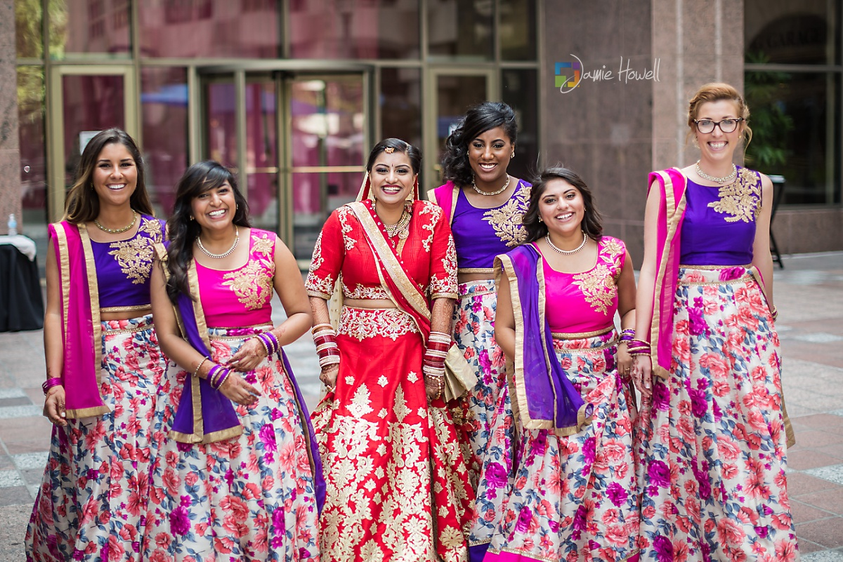 Hilton Charlotte Center South Asian Wedding (41)