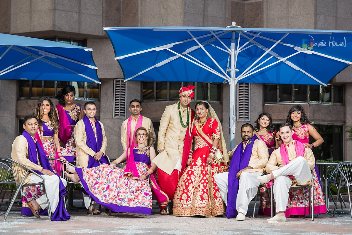 Hilton Charlotte Center South Asian Wedding (42)