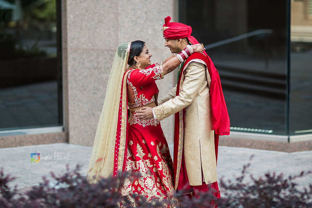 Hilton Charlotte Center South Asian Wedding (43)