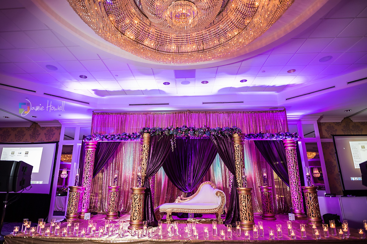 Hilton Charlotte Center South Asian Wedding (48)
