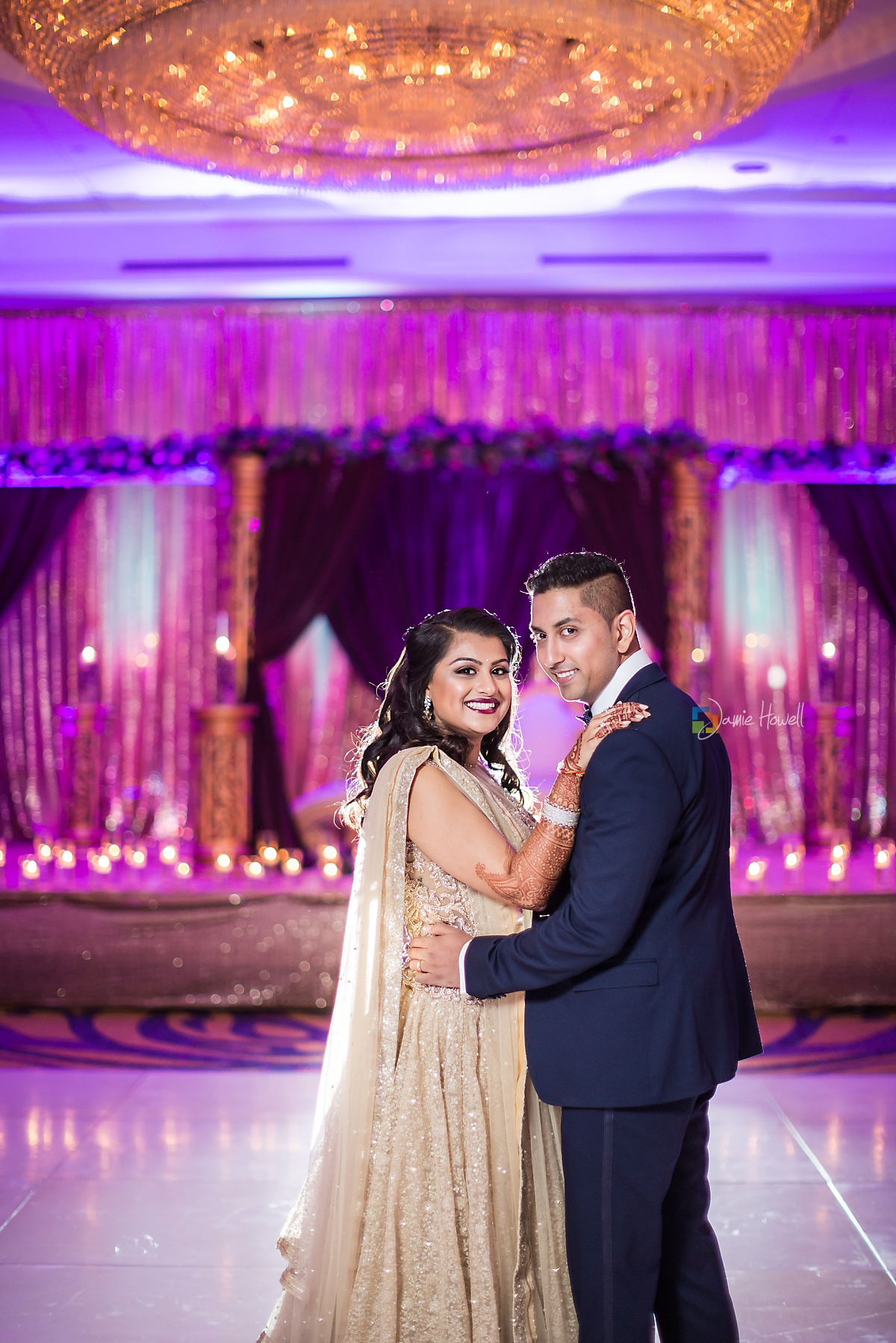 Hilton Charlotte Center South Asian Wedding (52)