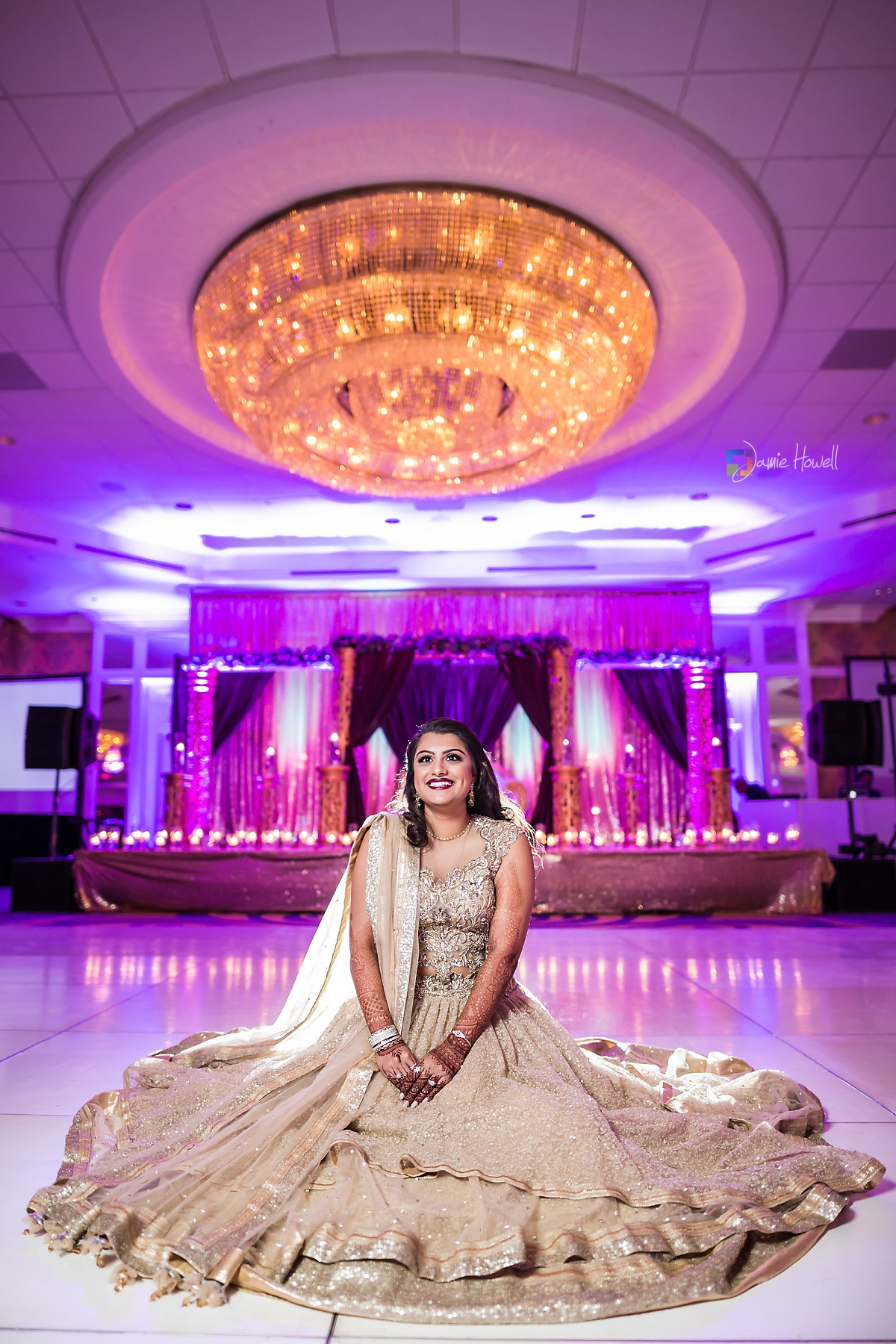 Hilton Charlotte Center South Asian Wedding (53)