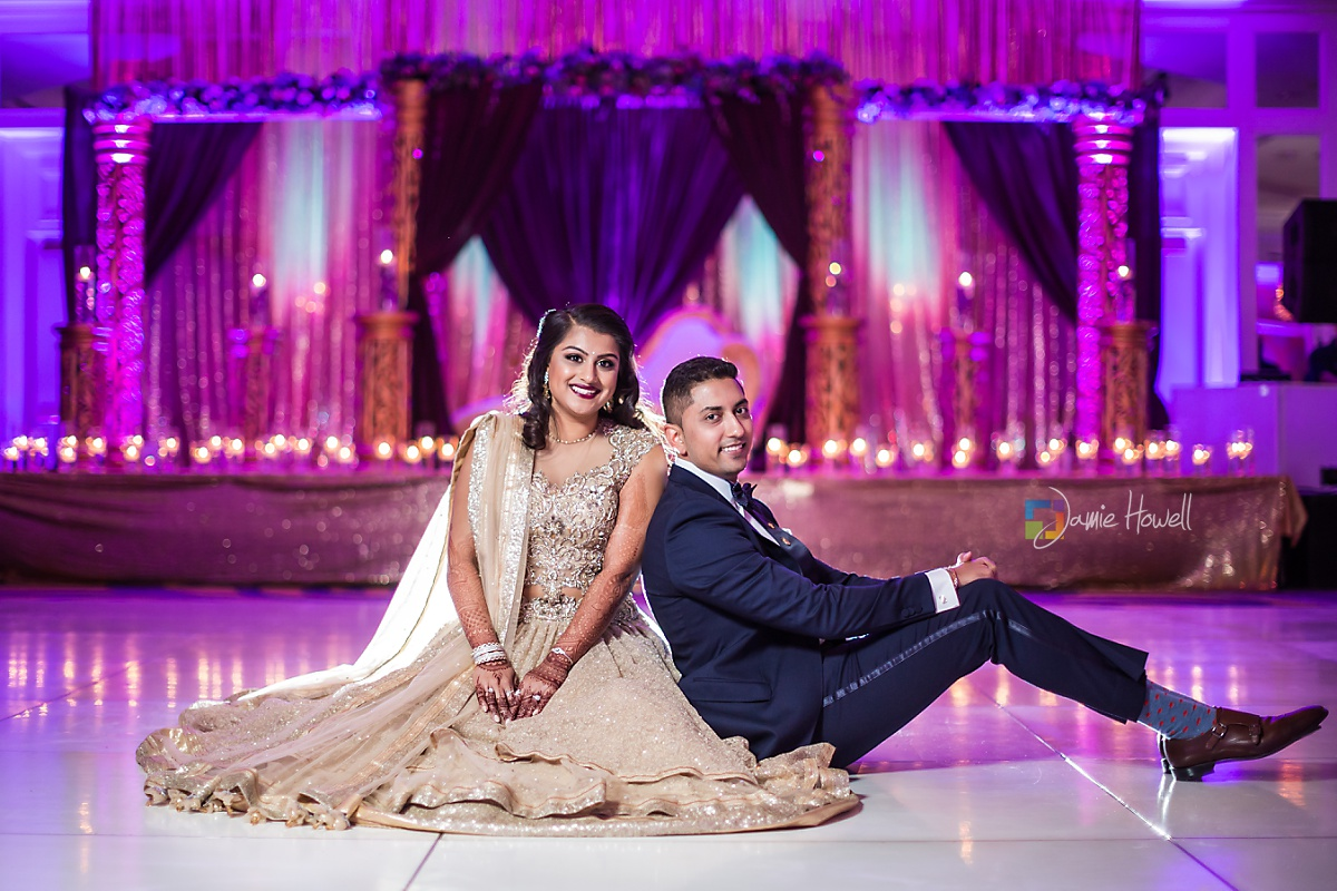 Hilton Charlotte Center South Asian Wedding (55)