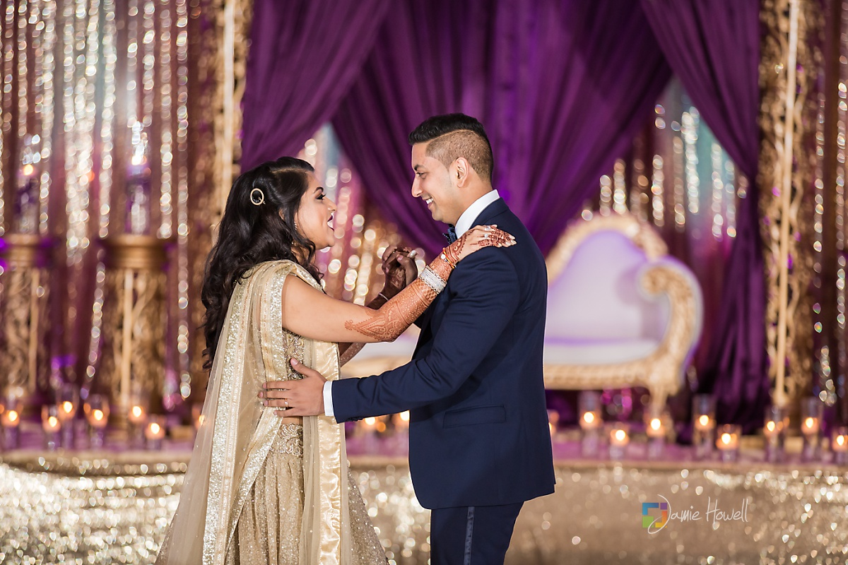 Hilton Charlotte Center South Asian Wedding (59)