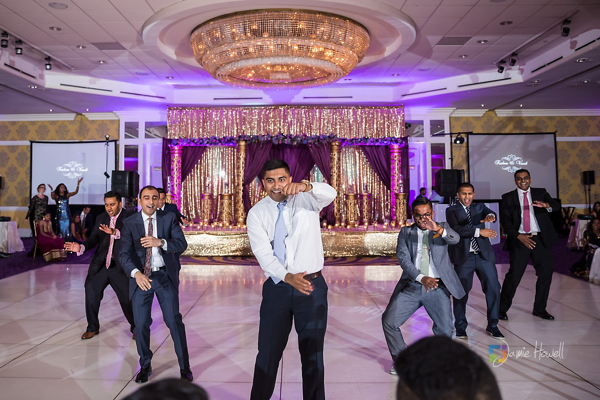 Hilton Charlotte Center South Asian Wedding (66)