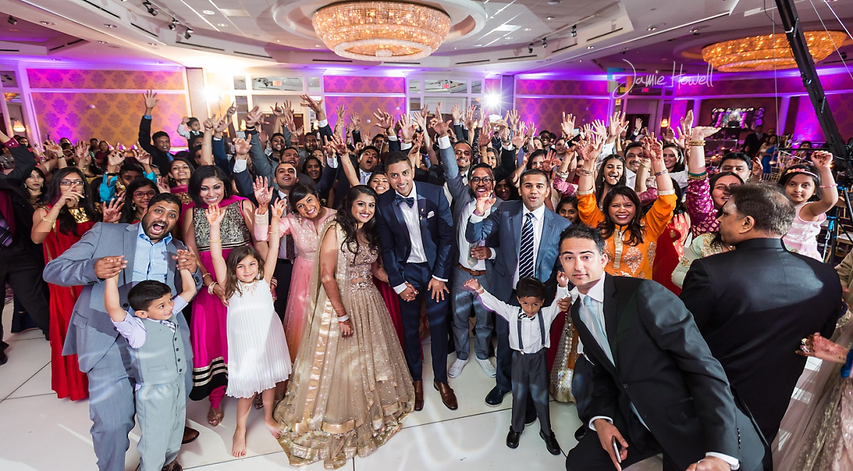 Hilton Charlotte Center South Asian Wedding (72)