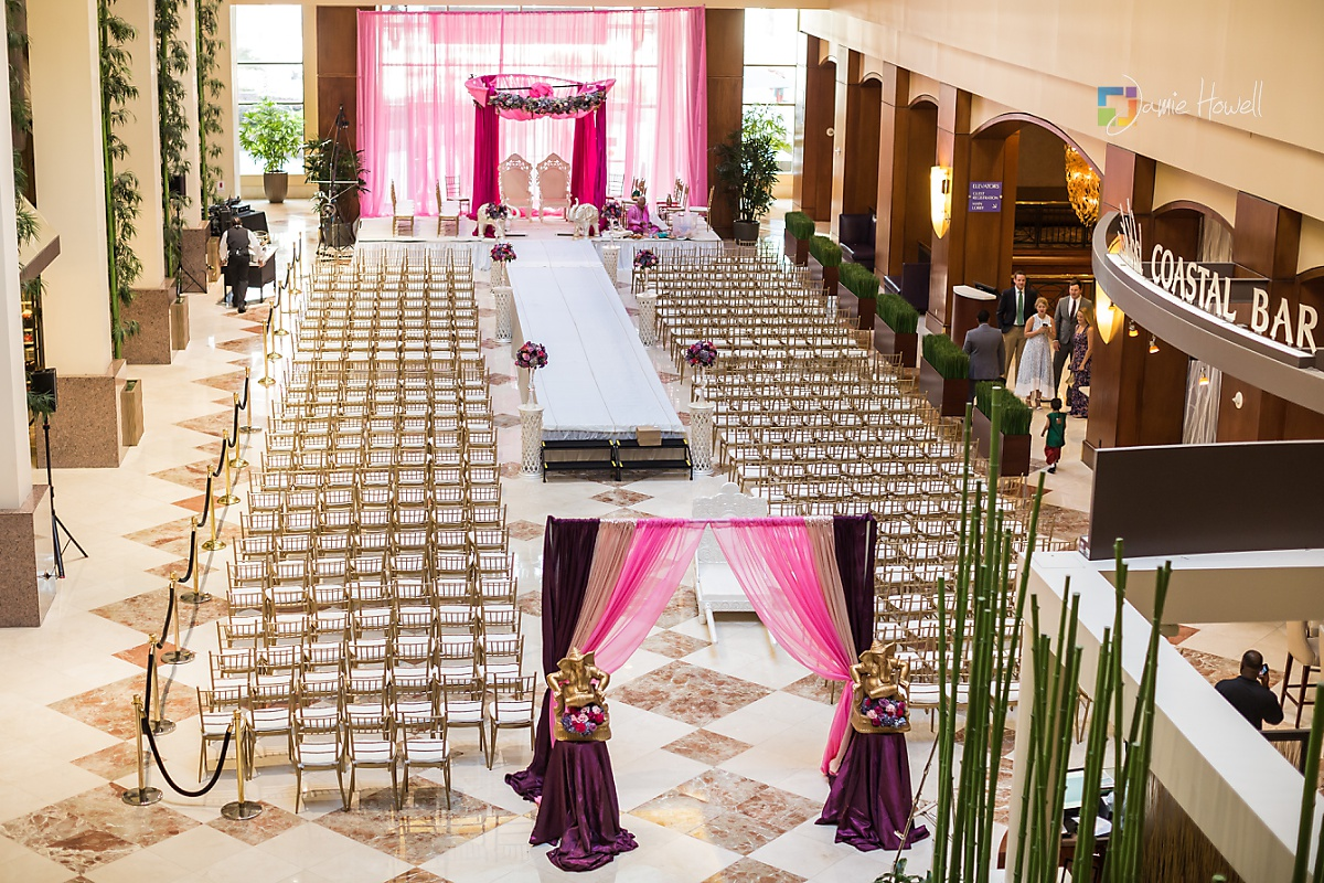 Hilton Charlotte Center South Asian Wedding (9)