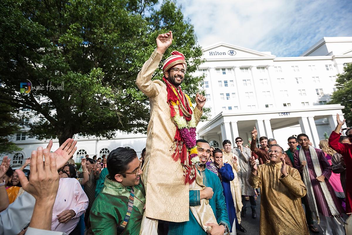 Hilton Marietta Conference Center Indian Fusion Wedding (1)