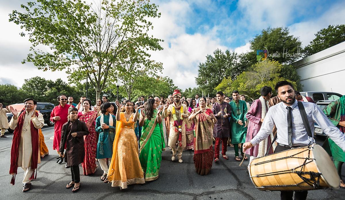 Hilton Marietta Conference Center Indian Fusion Wedding (2)
