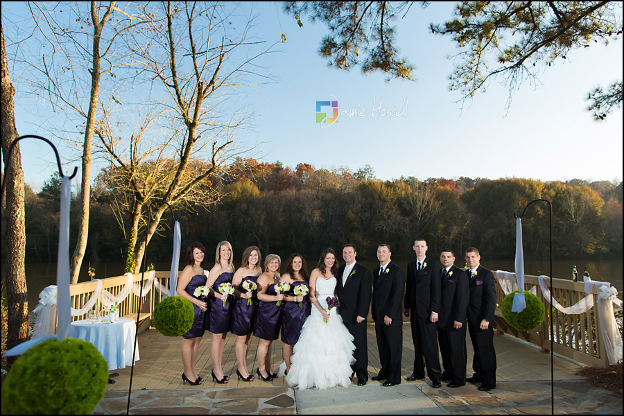ashley and kenneth roswell river landing wedding jamie