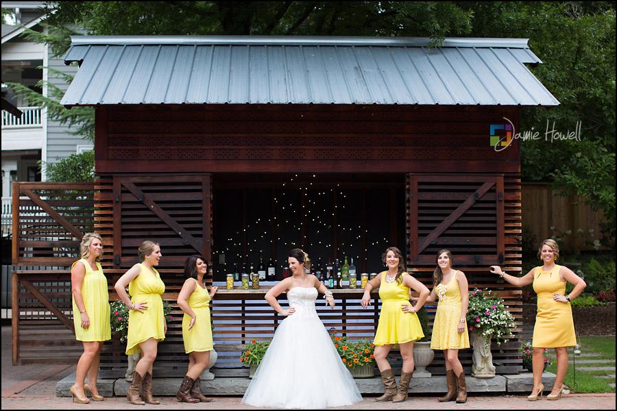 Seth And Stephanie Atlanta Trolley Barn Wedding