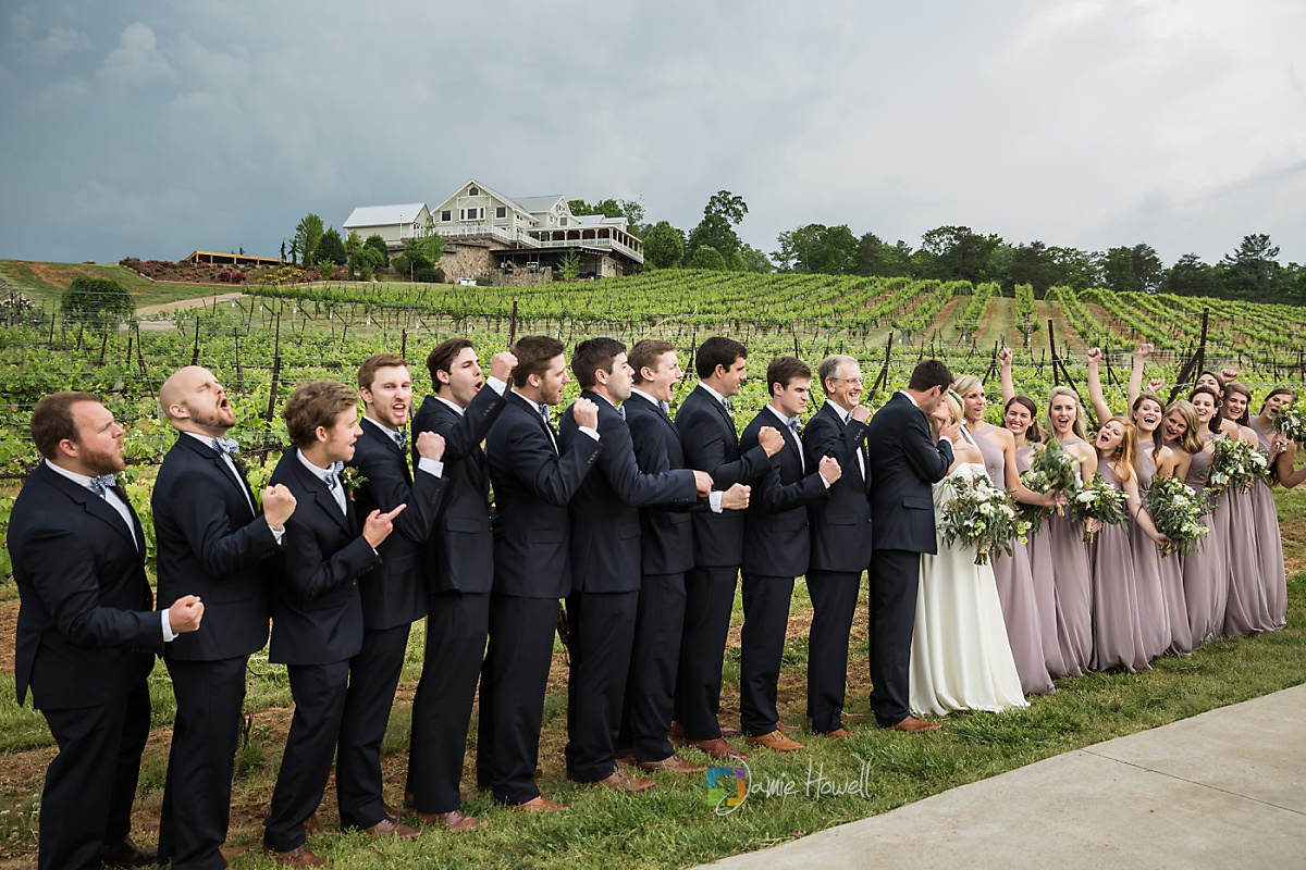 Frogtown Cellers Winery Wedding (35)