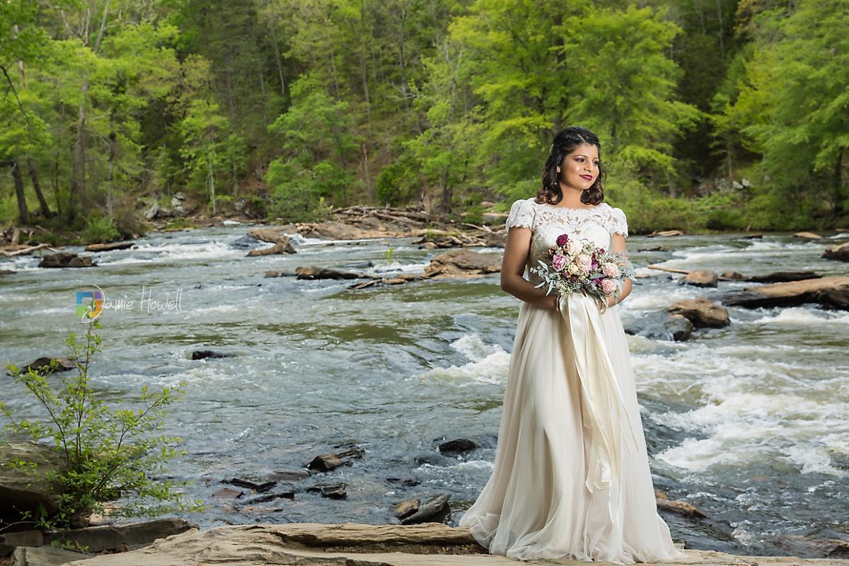 Nus & Gabe's Sweetwater Creek Park wedding | Jamie Howell