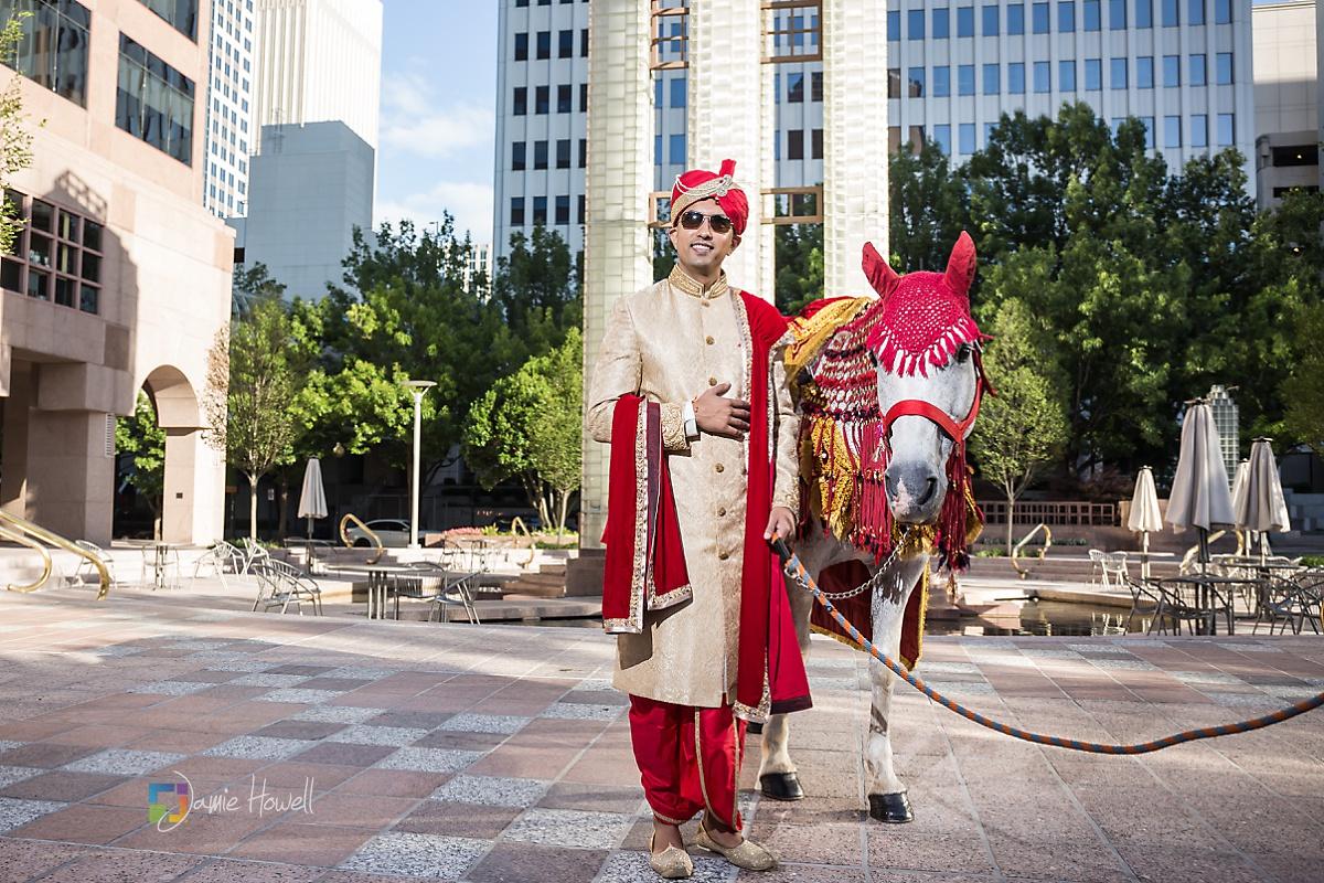 Hilton Charlotte Center South Asian Wedding (11)
