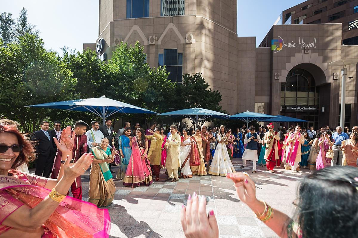 Hilton Charlotte Center South Asian Wedding (21)