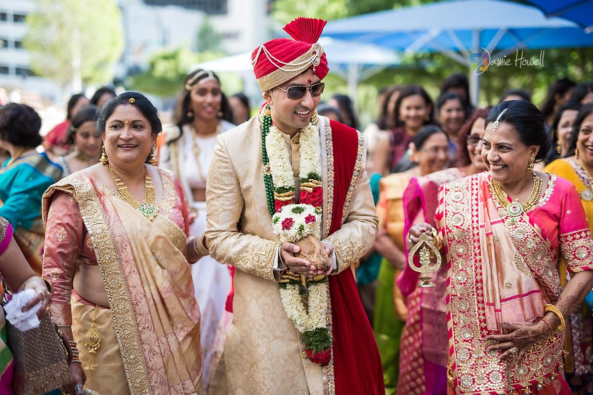 Hilton Charlotte Center South Asian Wedding (23)