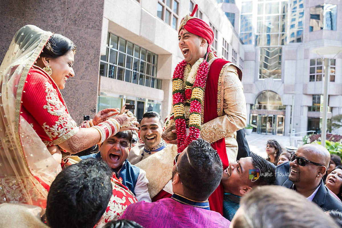 Hilton Charlotte Center South Asian Wedding (26)