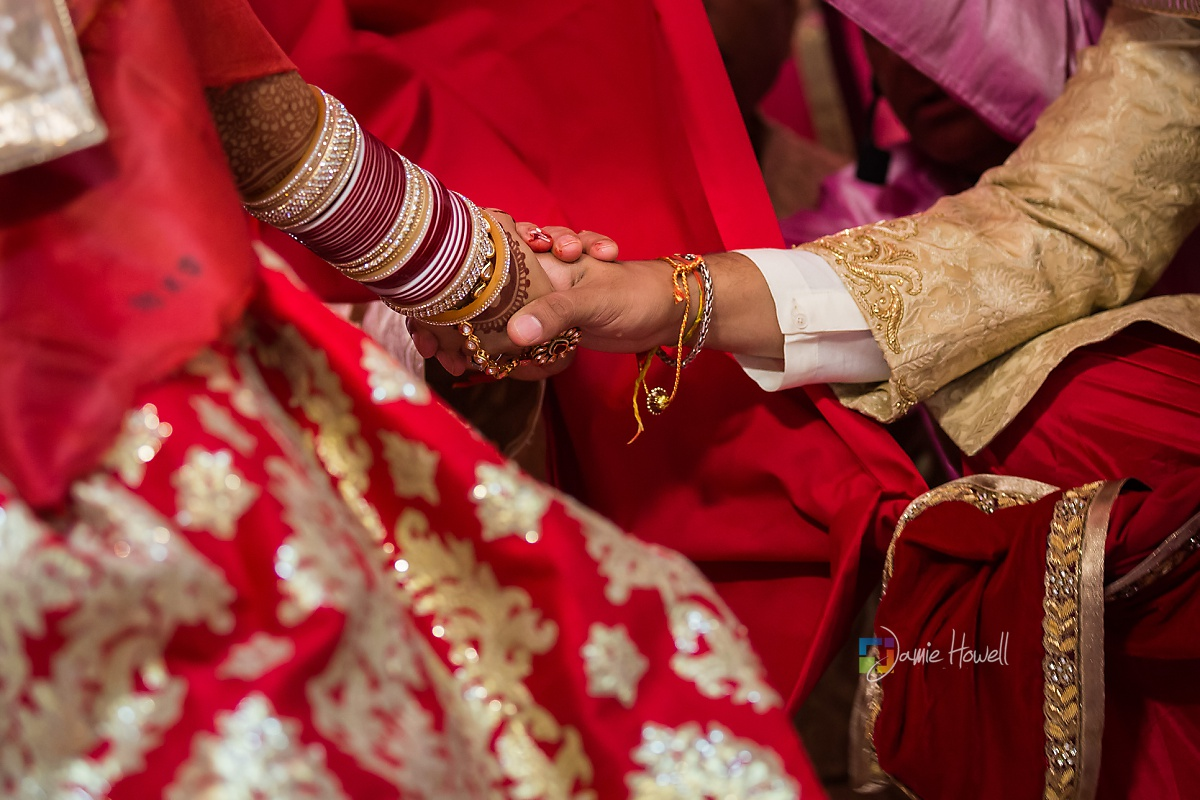 Hilton Charlotte Center South Asian Wedding (32)