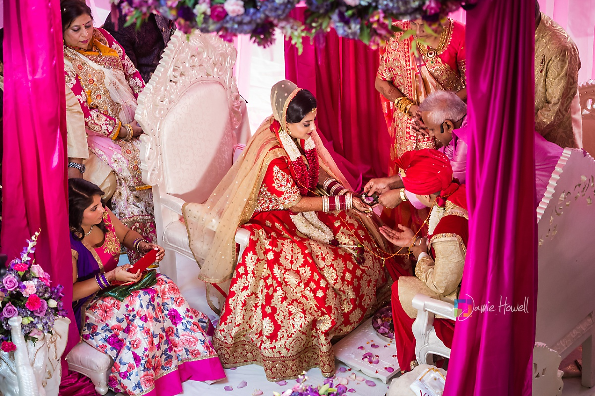 Hilton Charlotte Center South Asian Wedding (34)