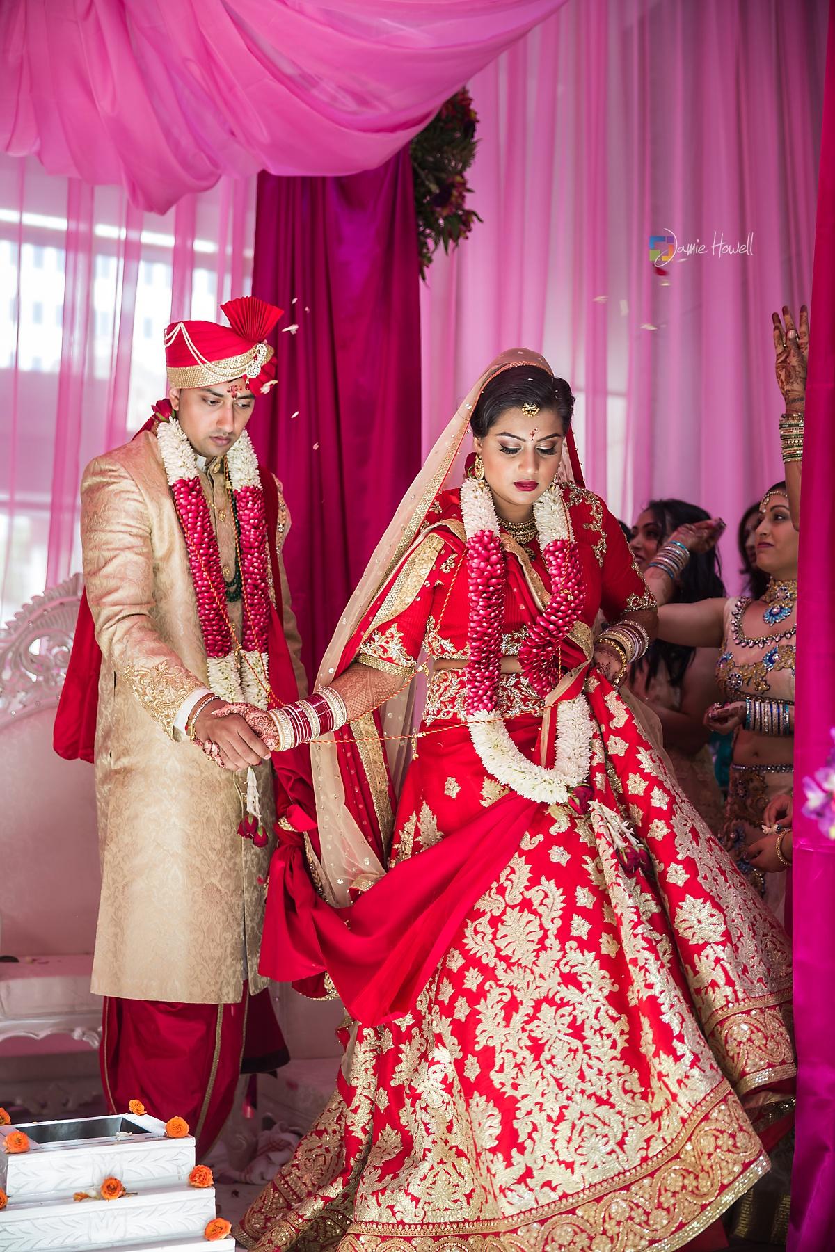 Hilton Charlotte Center South Asian Wedding (36)