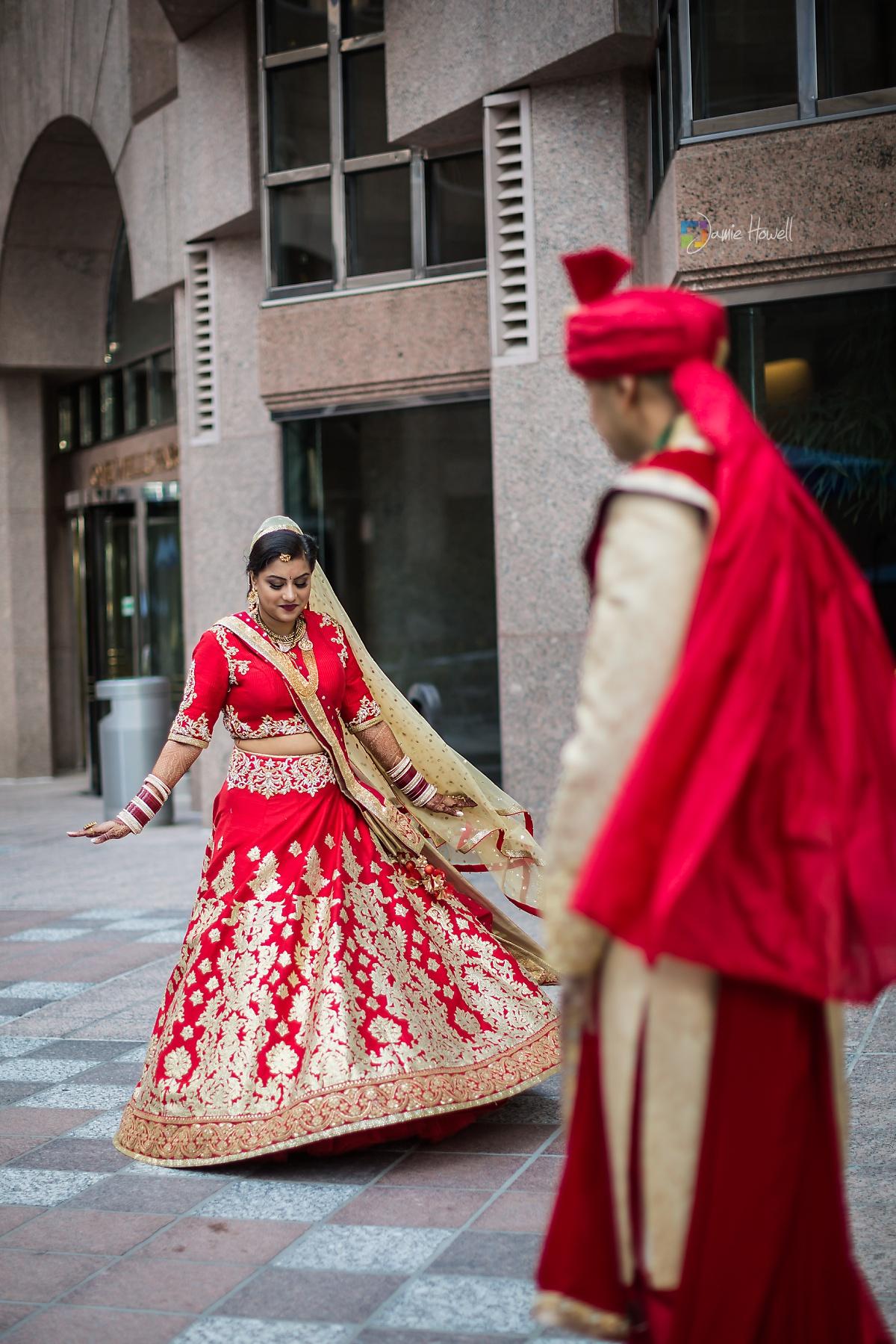 Hilton Charlotte Center South Asian Wedding (44)