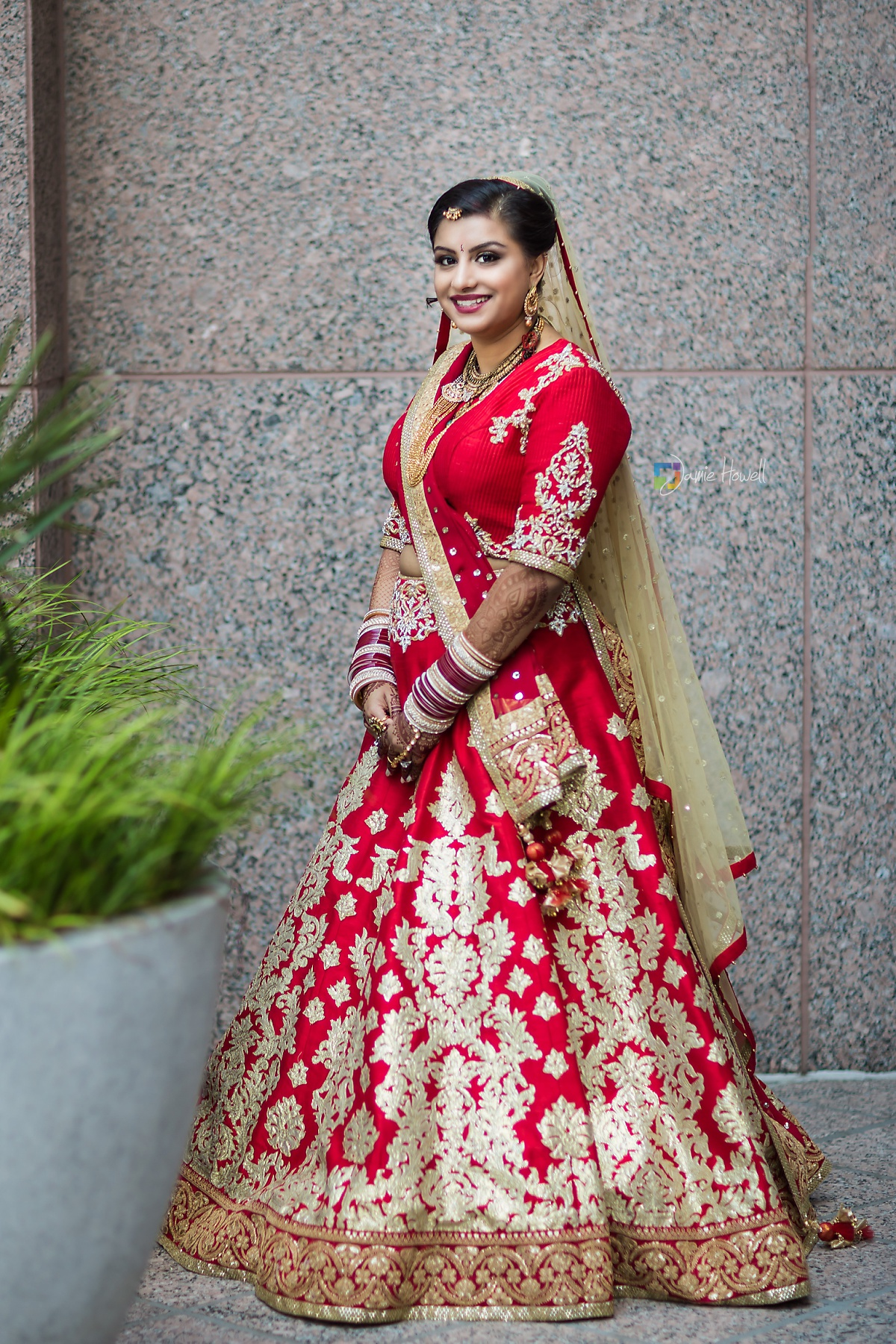 Hilton Charlotte Center South Asian Wedding (46)