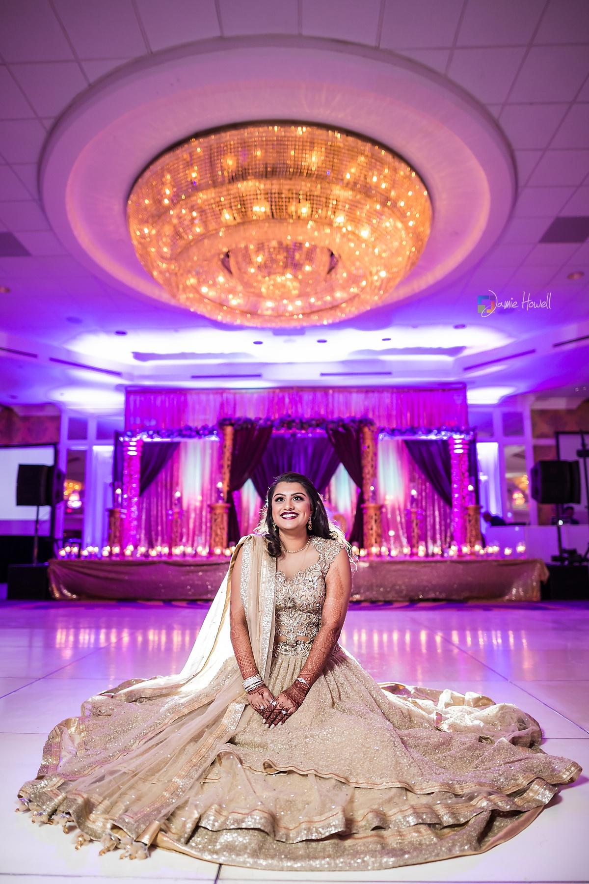 Hilton Charlotte Center South Asian Wedding (53)